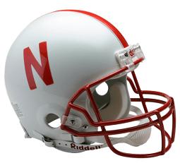 nebraska helmet