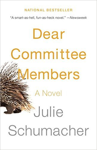 Julie Schumacher, Dear Committee Members
