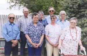 Elizabeth Babcock Rodeback and siblings
