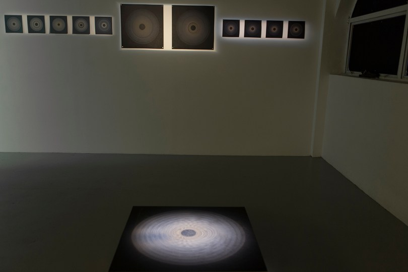 Threshold installation view
