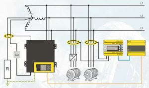 Electrical safety for high resistance grounding systems