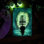 Cristofaro Scorpeniti- glow in the dark painting