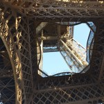 Eiffel Tower view from below