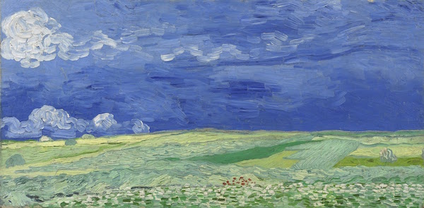 Wheat fields in Thunderclouds, 1890- Van Gogh