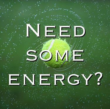 Skip the Coffee and Grab a Tennis Ball