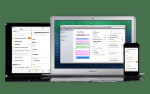 Daylite 5 Desktop- & Mobil-Versionen