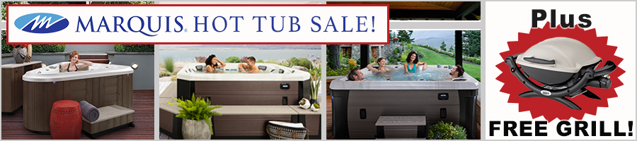 Hot Tub Sale with Free Grill