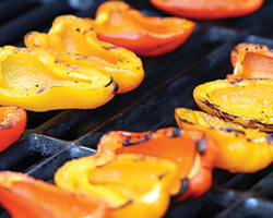how to grill bell peppers