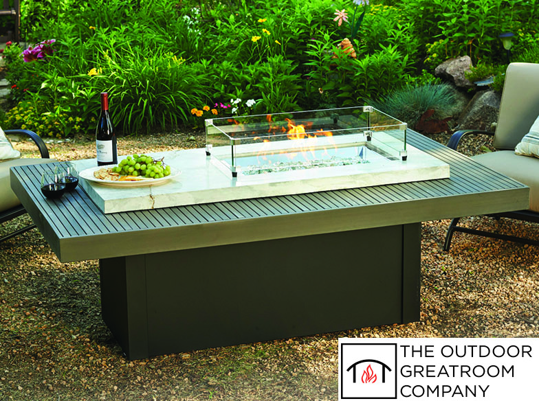 Fire Feature Fire Pit Table Outdoor Design Trends 2018