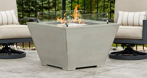 Cove Square Gas Fire Pit