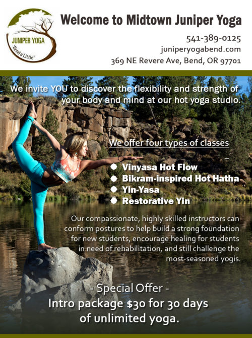 $30 for 30 days Unlimited Yoga