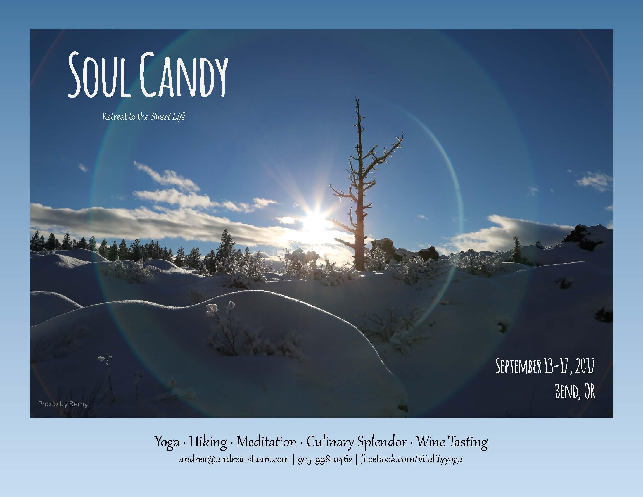 Soul Candy Farm to Table Yoga Retreat w/ Andrea Stuart | Bend Health ...