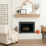 Diy Mirror Makeover For Our Fireplace Mantel Beneath My Heart