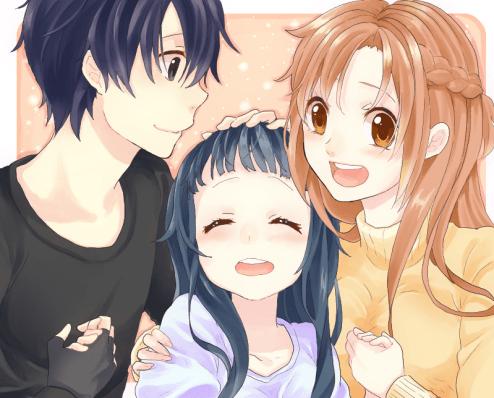 Sword Art Online family