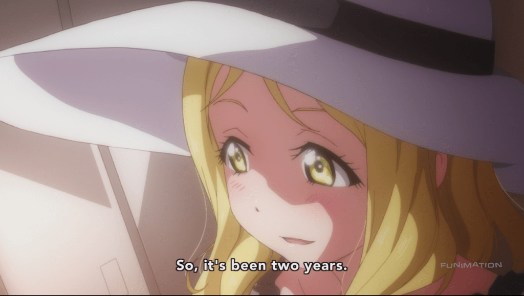 If she waited three more years she'd be fighting titans instead.