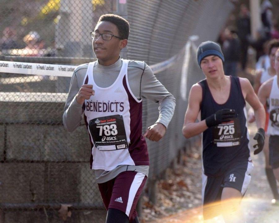 Steven+Payne+had+medaled+at+18th+place+in+the+Freshman+%26+Sophomore+race