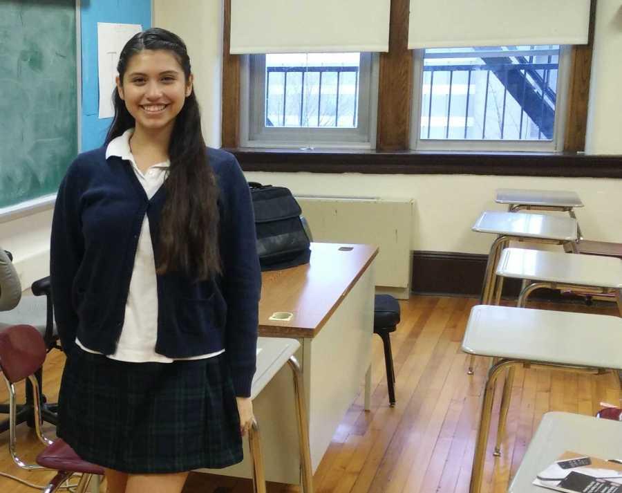Sarai Roman is a junior at Benedictine Academy in Elizabeth, NJ.