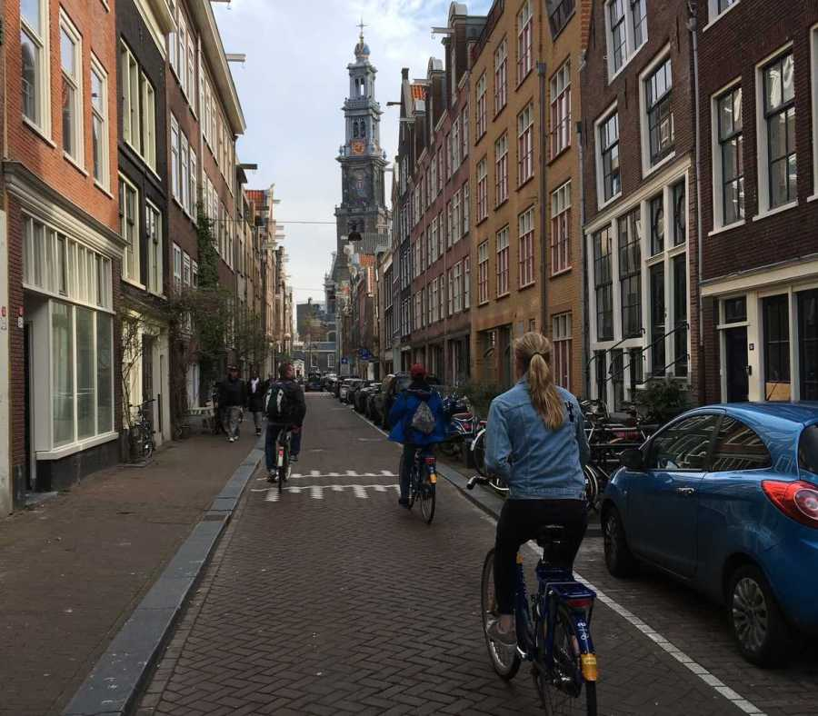 Sebastian+capturing+a+photo+of+Hollands+streets%2C+as+he+rides+his+bike.