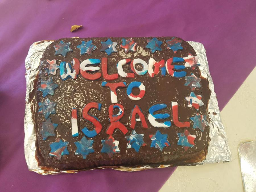 St. Benedict's faculty and students received a warm welcome upon their arrival in Israel this week.