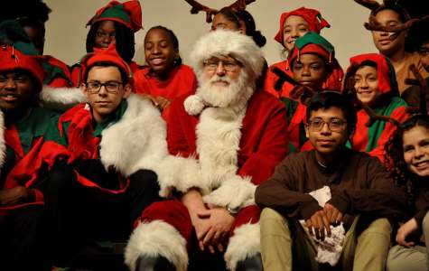 Merry Christmas and Happy New Year from Santa and the Elves of St. Benedict's