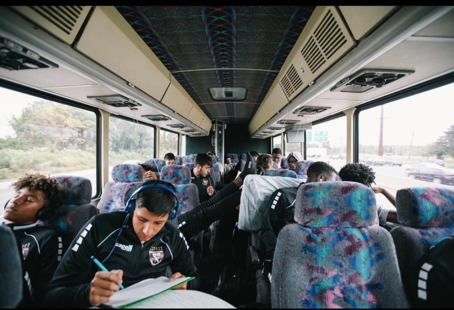 To play some of the country's best soccer teams, SBP's Gray Bees take their game on the road.