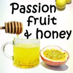 passion fruit and honey a tropical delight!passion fruit and honey drink image