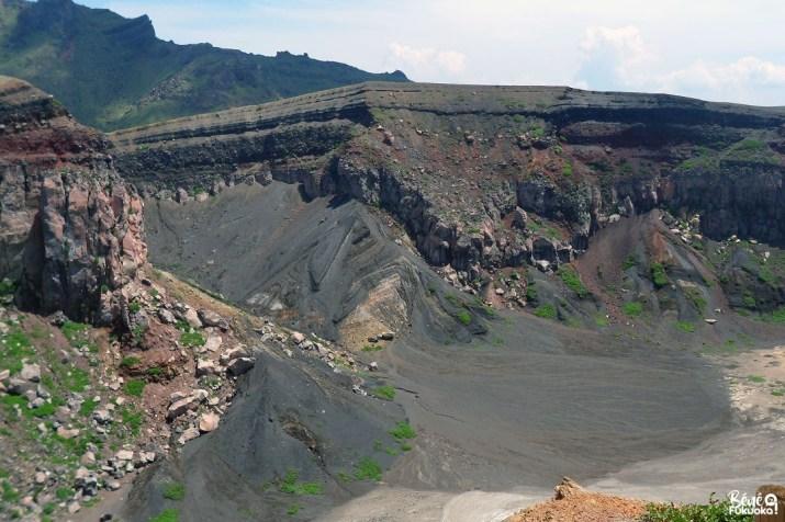 Coulées de lave au mont Aso, Kumamoto