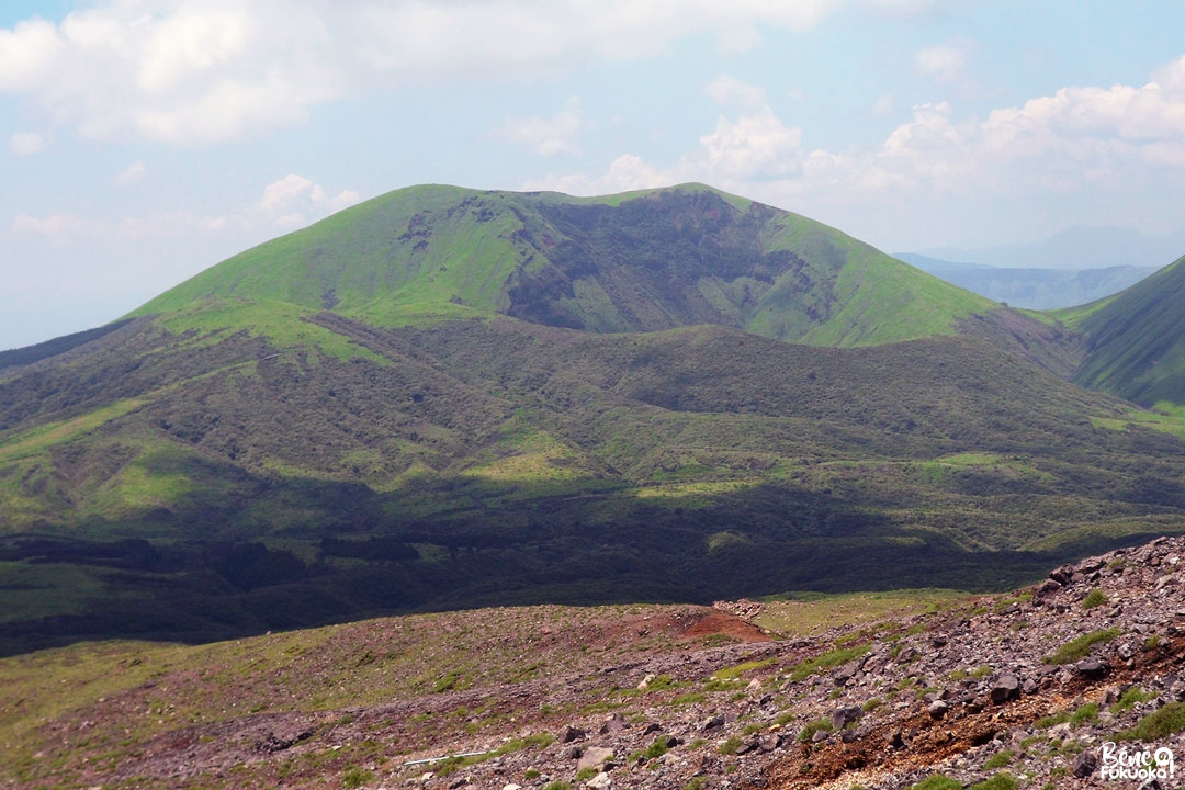 Le mont Kishima, Mont Aso, Kumamoto