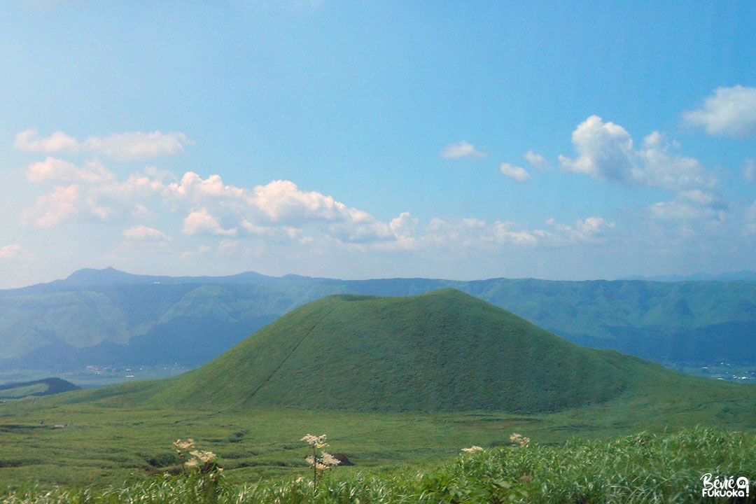 Le mont Komezuka, mont Aso, Kumamoto