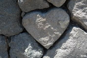 Pierre en forme de coeur, Sakurajima