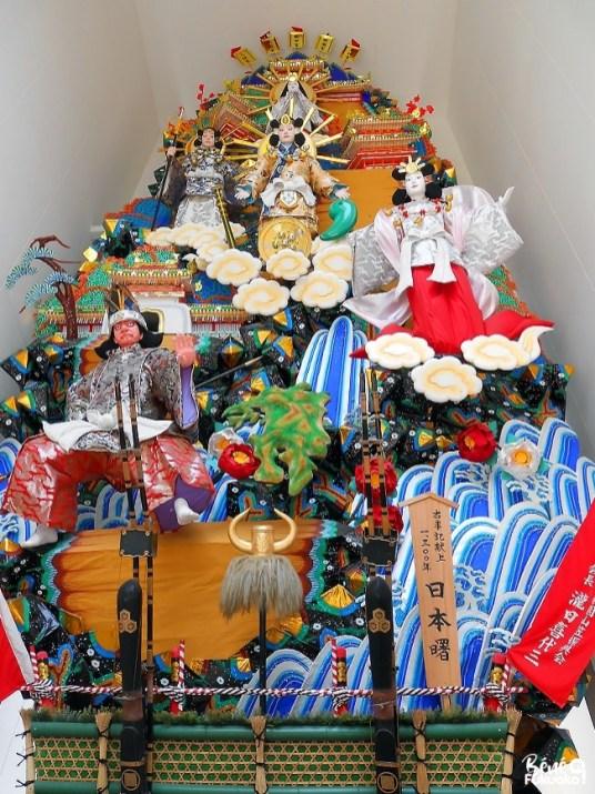 Char du festival Yamakasa, sanctuaire Kushida, Fukuoka