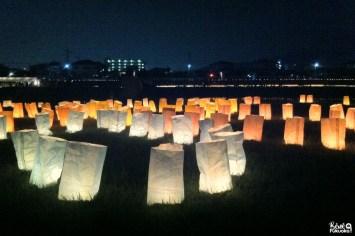 Le festival des lanternes de Muromi-gawa, Fukuoka