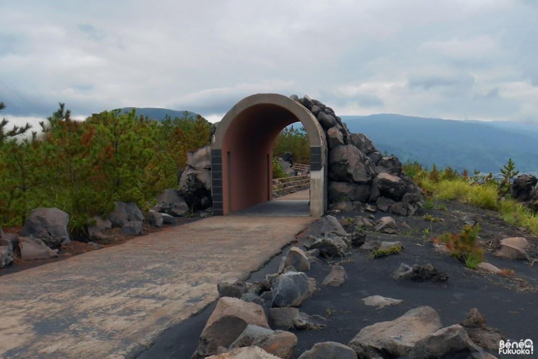 Chemin de promenade Lava Road, Sakurajima