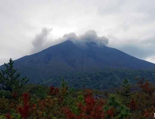 Sous les cendres du Sakurajima