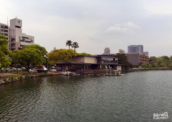 Boathouse du parc Ôhori, Fukuoka
