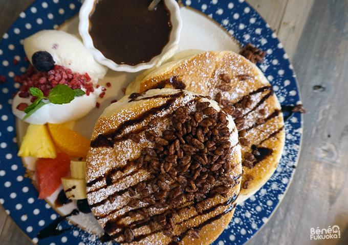 Pancakes chez Cafe del sol, Fukuoka