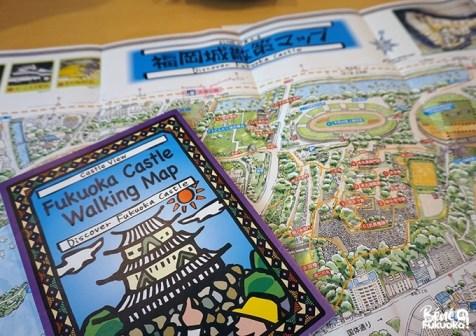 Carte du service de guides Fukuoka Walks