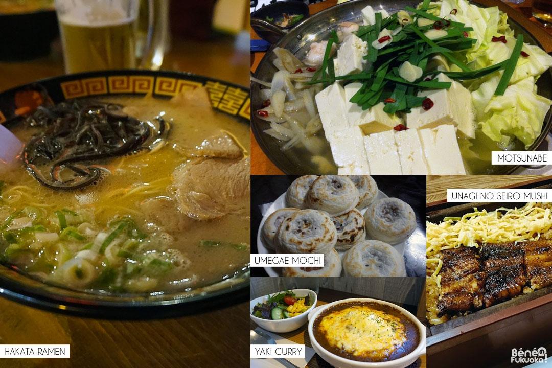 Les spécialités culinaires de Fukuoka