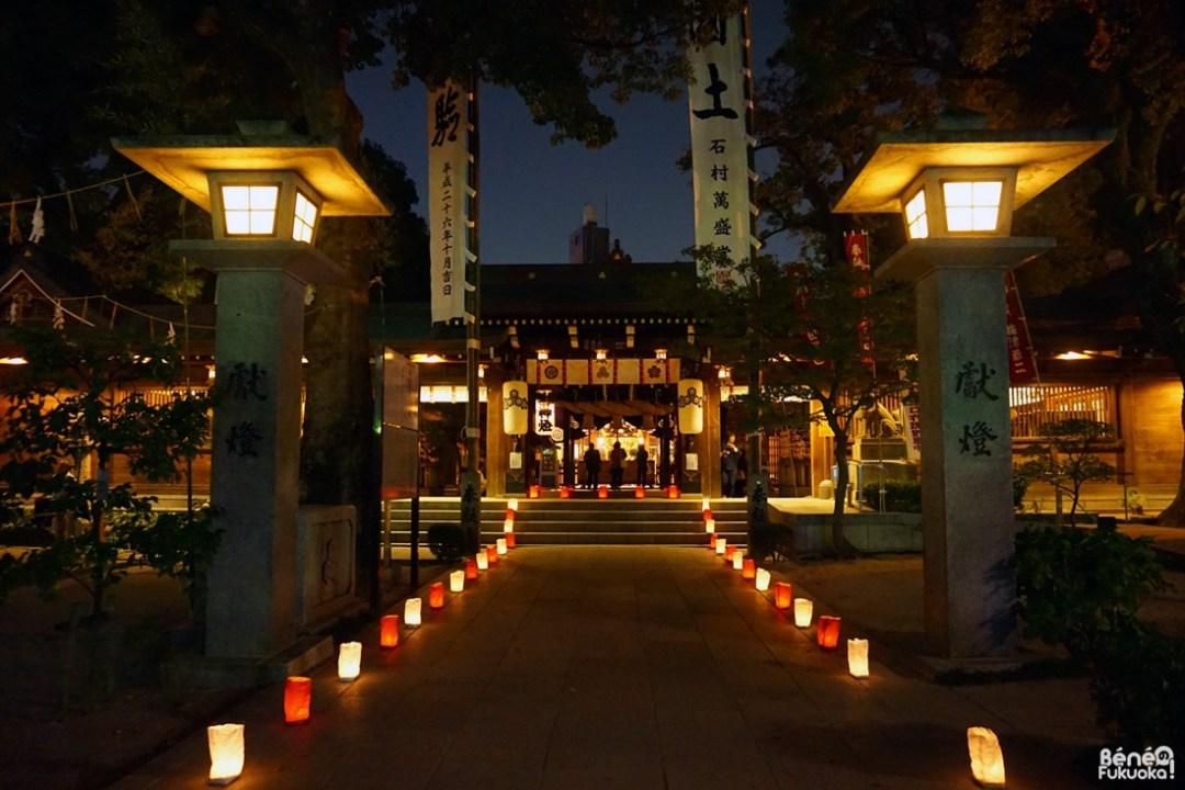 Festival Hakata Okunchi, sanctuaire Kushida, Fukuoka