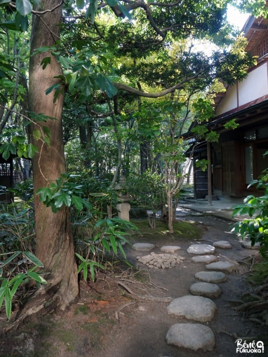 Jardin japonais Rakusuien à Fukuoka