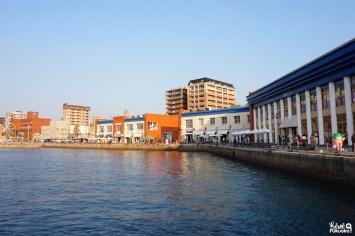 La jetée de Mojikô, Kita-Kyûshû, Fukuoka