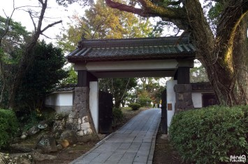 Porte du château de Kitsuki