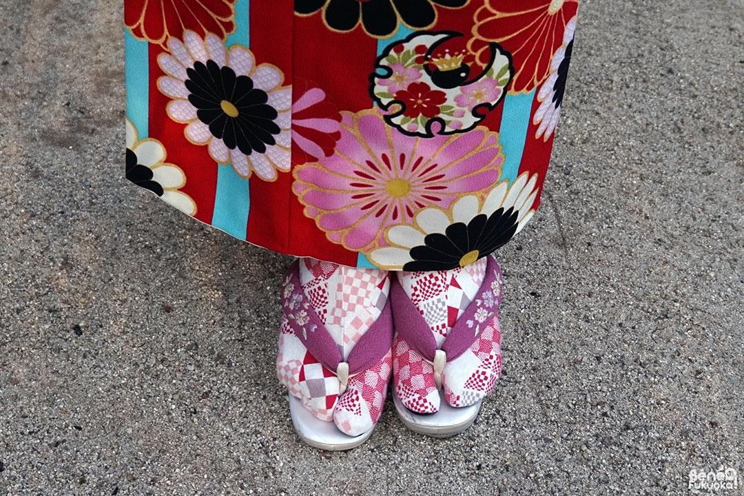 Tabi, Fukuoka Kimono Walk