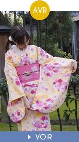Fukuoka Kimono Walk - avril