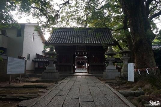 Sanctuaire Torikai Hachimangû, Fukuoka