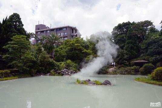 Shiraike Jigoku, l'Enfer du lac blanc, Beppu