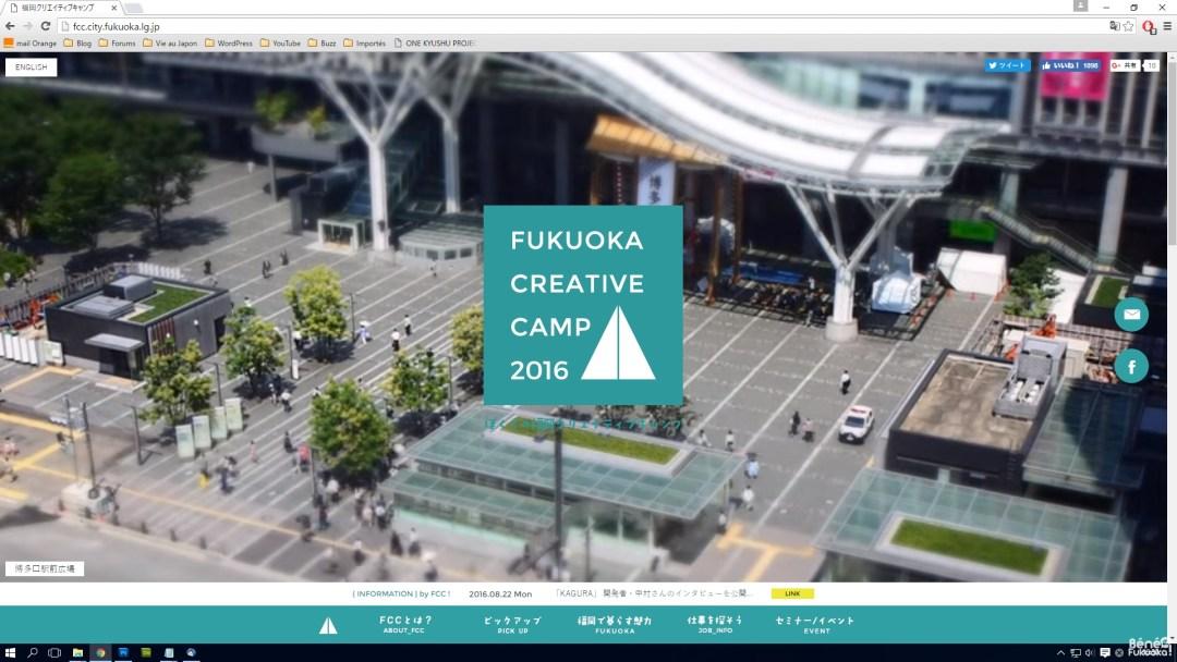 Fukuoka Creative Camp
