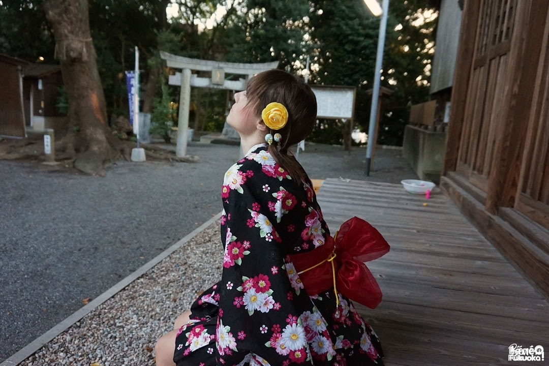 Fukuoka Kimono Walk #8, jinbei