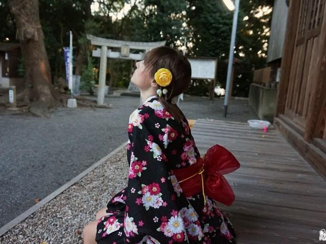 Fukuoka Kimono Walk #8 – Jinbei