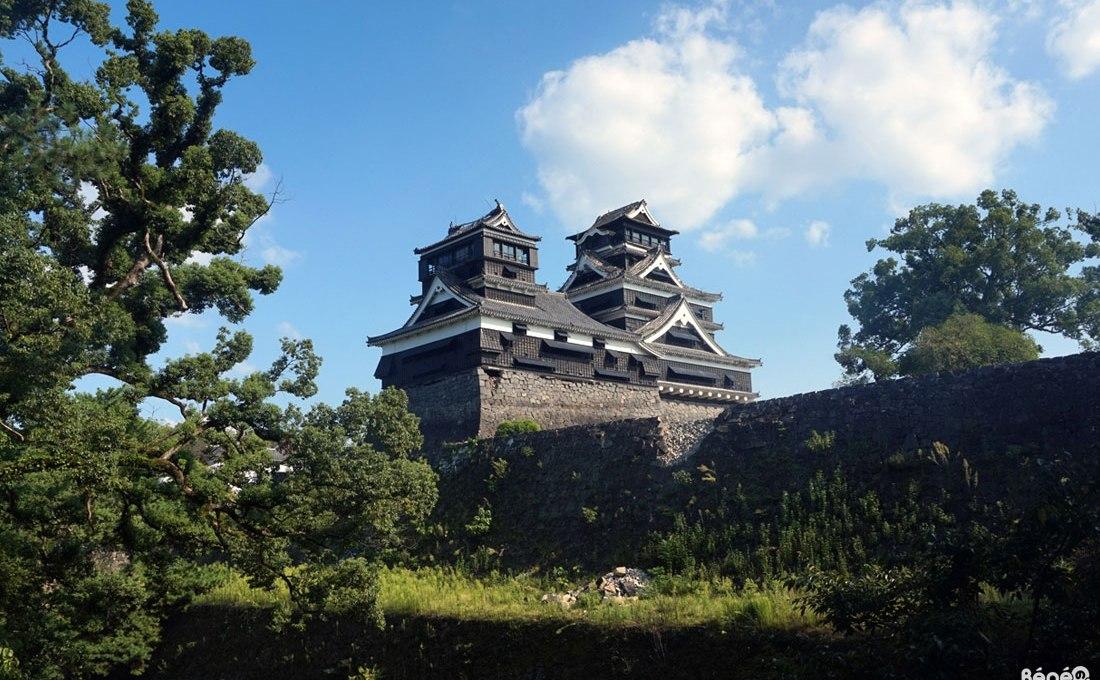 Visiter le château de Kumamoto après les séismes